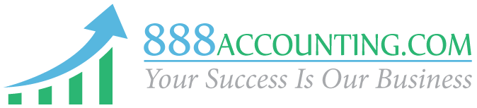 888Accounting Logo
